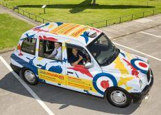 RAF Liveried Taxi