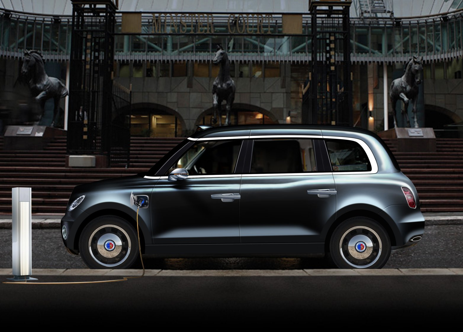 THE FUTURE ZERO-EMISSIONS LONDON TAXI