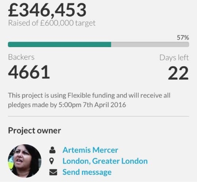 Breaking News : Action For Cabbies Crowdfunding Page Has Just Been Updated To Show 22 Day extension.
