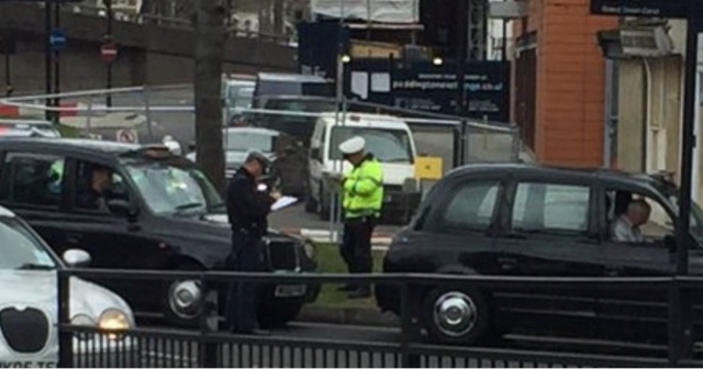 Police Harassing Taxi Drivers Queuing To Join Ranks…by Paul Sweeney.