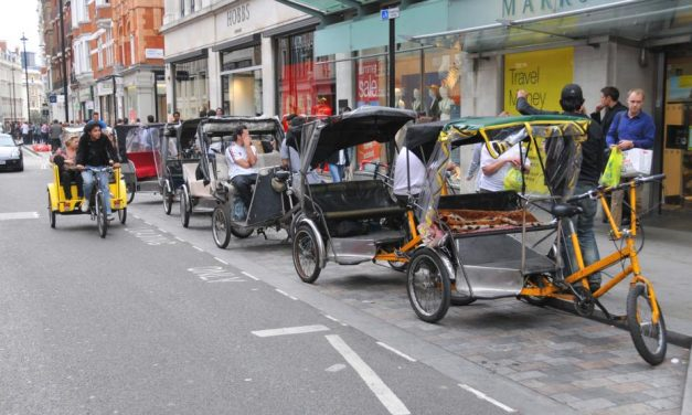 Rip-off pedicab drivers to be forced off Londons' roads under new crackdown