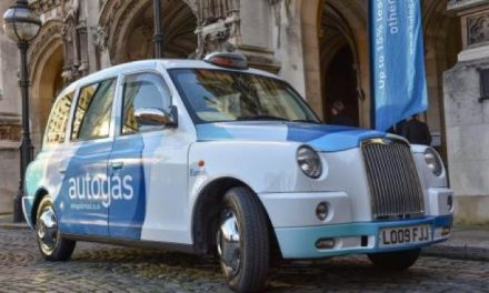 Autogas To Start Trial With Converted Diesel Taxi To New Petrol/Gas In London.