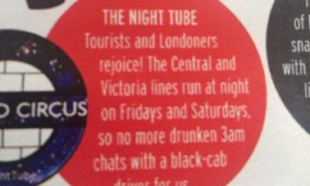 Night Tube Advert, Insults The Licence Taxi Trade….UCG Complain To Commissioner Mike Brown