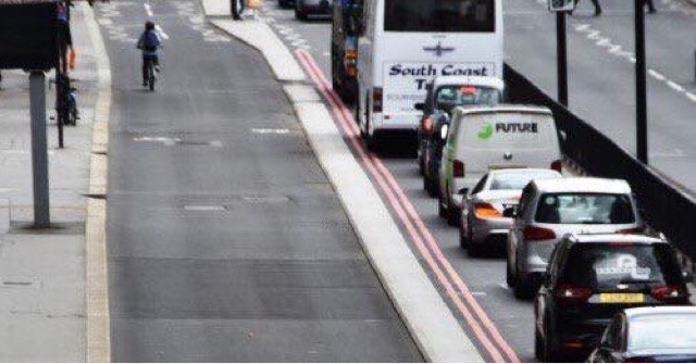 Bus Use In London Falls To Lowest Level In Decade, As Buses Slow Down To Walking Speed.