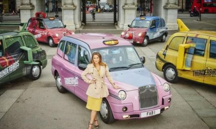 London Thunderbird Taxis Are Go…