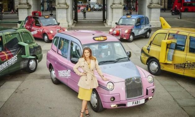 London Thunderbird Taxis Are Go…
