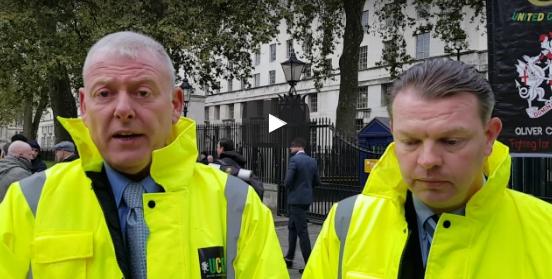 Trevor Merralls & Lee Osborne explain the aim of todays demo 08-11-2016