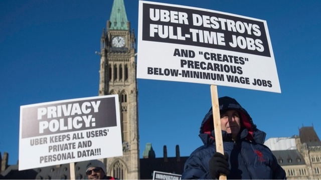 Uber drivers not self-employed and must receive minimum wage, tribunal rules