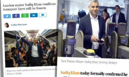 Another broken promise from Khan, on the scale of Nick Clegg and tuition fees.