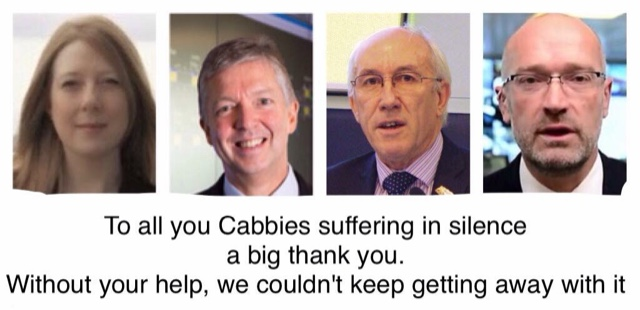 TfL Would Like To Thank All The Apathetic, Without Your Help They Wouldn't Be Able To keep Getting Away With It.