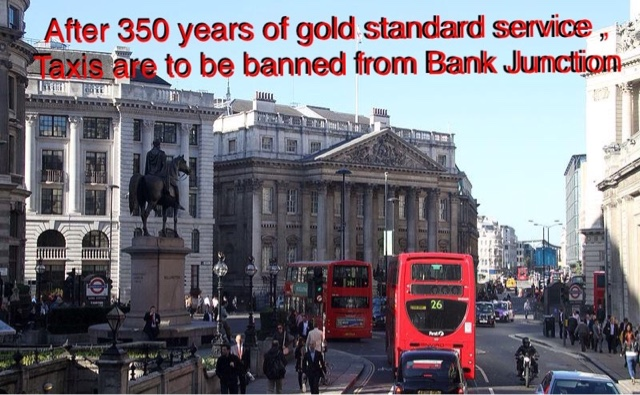 City Of London Want Us Banned From Bank Junction. It's The Gloves Off Time.