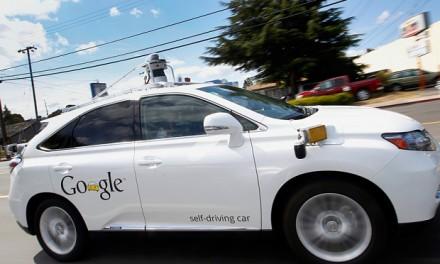 Google driverless car hits bus in California