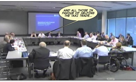 Stabbed In The Back : Will TfL Board Implement The Sterilised PH Regs Proposals?…You Can Bet Your Life They Will.