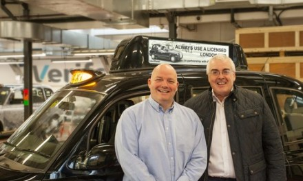 New London Taxi Adverts Hailed a Success
