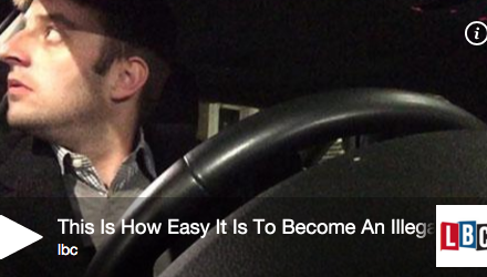 This Is How Easy It Is To Become Illegal Minicab Driver