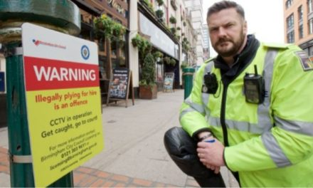 Signs Installed Across Birmingham City Centre To Warn Illegal Minicab drivers