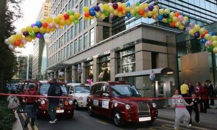 Taxi driver Greg Smith, holds raffle to raise cash to send sick children to Disneyland in Paris.