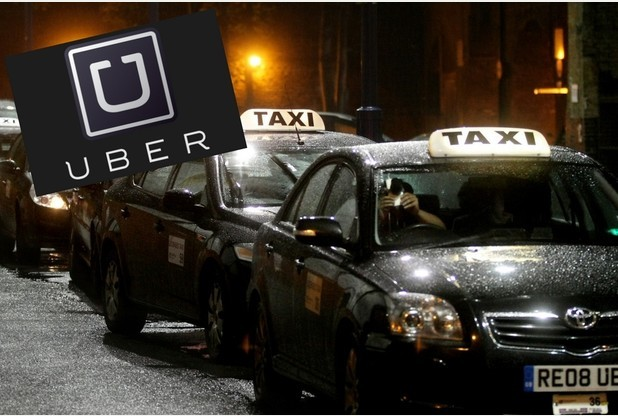 Uber cars using Brentwood taxi ranks illegally, cabbies claim