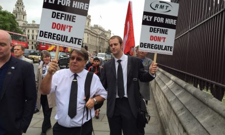 RMT Taxi Drivers' Branch Chairman on why we need a legal definition of Plying for Hire