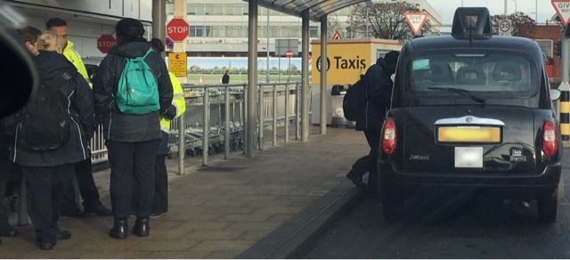 Compliance Officers, Blatantly Abusing Powers On Heathrow Ranks : Letter To Taxi News