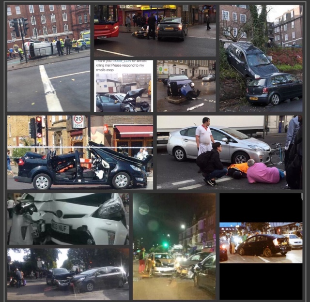 TfL's Woeful Inadequacies Partially Responsible For Our Exclusion From Bank Junction…by Sean Paul Day.