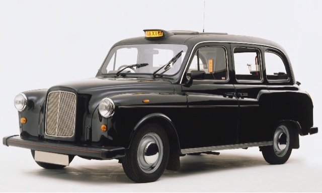An ode to the London cab : Austin FX4 taxi at 60.