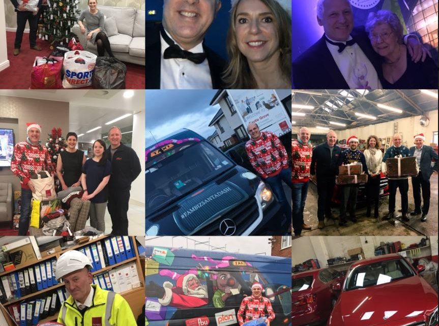 #FamBizSantaDash 2018 – Helping those in need this Christmas