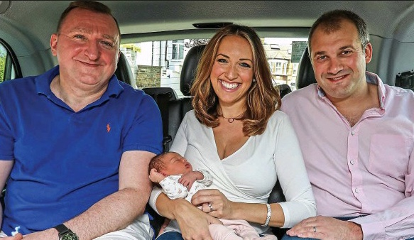 Baby Girl Delivered By Husband In Back Of London Black Cab
