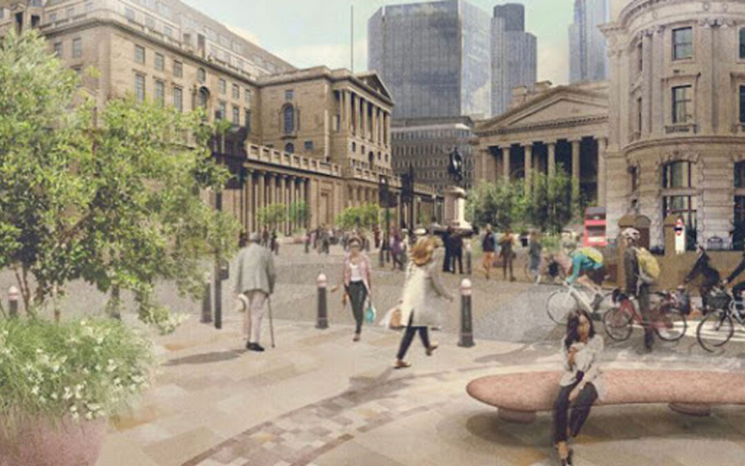 City of London Corporation unveils plans to pedestrianise areas around Bank Station