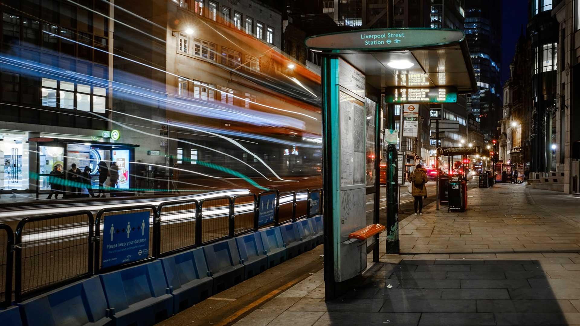 Bishopsgate Bus Gate